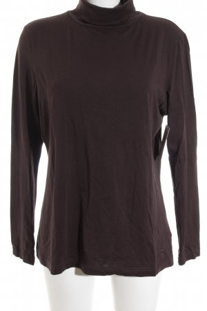Tom Tailor Turtleneck Shirt brown casual look