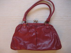 Tom Tailor Bowling Bag red imitation leather