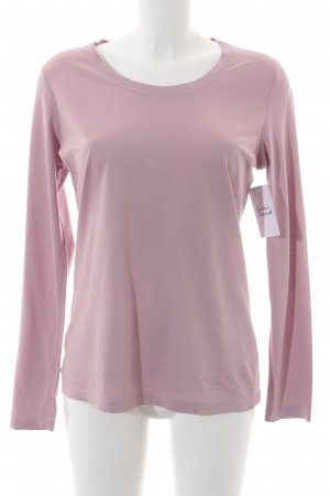 Tom Tailor Rundhalspullover rosa Casual-Look