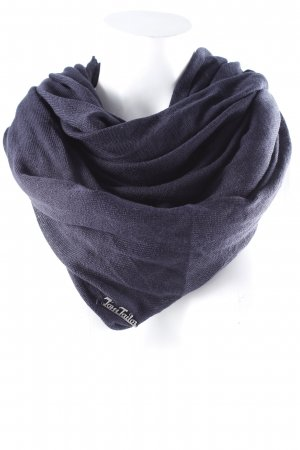Tom Tailor Snood donkerblauw casual uitstraling
