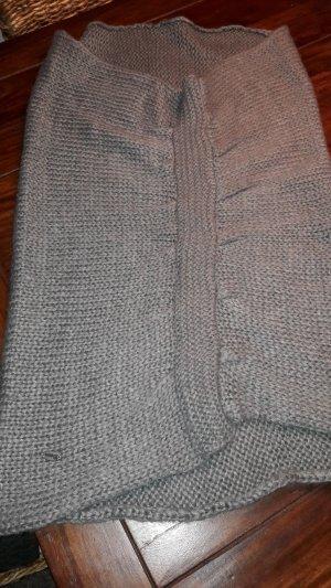Tom Tailor Denim Écharpe tube gris-gris foncé coton