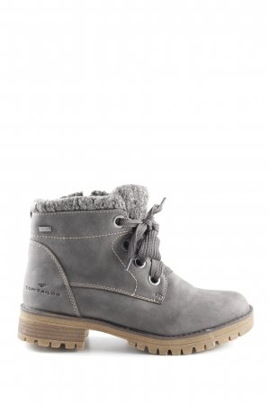Tom Tailor Lace-up Boots dark grey casual look