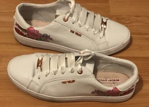 Tom Tailor Lace-Up Sneaker rose-gold-coloured-white
