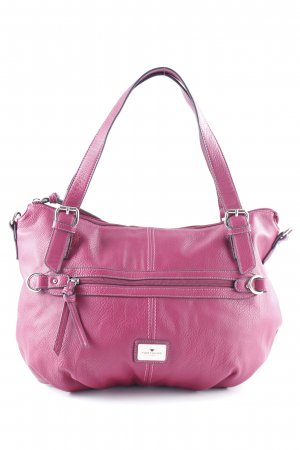 Tom Tailor Schultertasche violett Casual-Look
