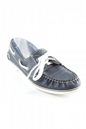 Tom Tailor Sailing Shoes dark blue-white elegant