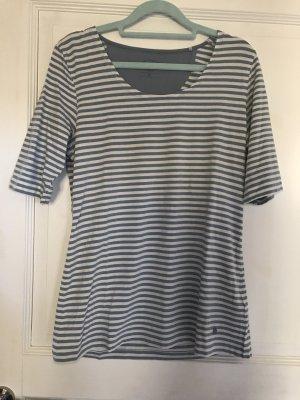 Tom Tailor Shirt blau / weiß Streifen Gr. XL