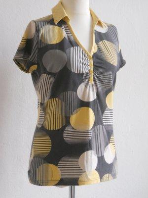 Tom Tailor Shirt Grafik Bluse Bubbles XL
