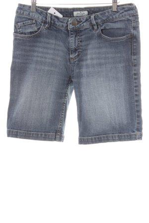 Tom Tailor Shorts stahlblau Casual-Look