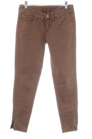 Tom Tailor Skinny Jeans cognac Casual-Look