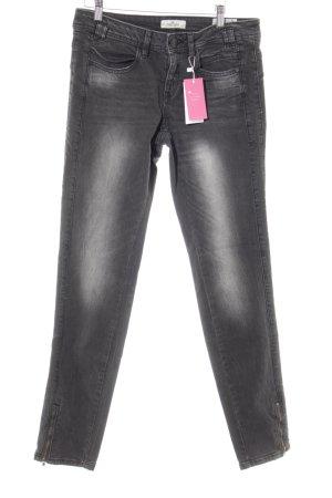 Tom Tailor Skinny Jeans dunkelgrau Casual-Look