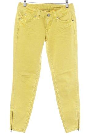Tom Tailor Skinny Jeans gelb Casual-Look