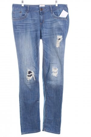 "Tom Tailor Slim Jeans ""Carrie"" kornblumenblau"