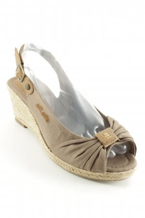 Tom Tailor Slingback-Pumps mehrfarbig Beach-Look