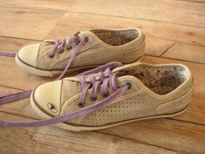 Tom Tailor Sneaker grau/lila in Gr. 37