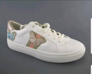 Tom Tailor - Sneaker mit Patches - Gr. 40 - neu