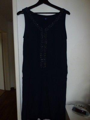 Tom Tailor Sommer Kleid dunkenlblau!!! - mit Glitzersteinchen Gr. 38