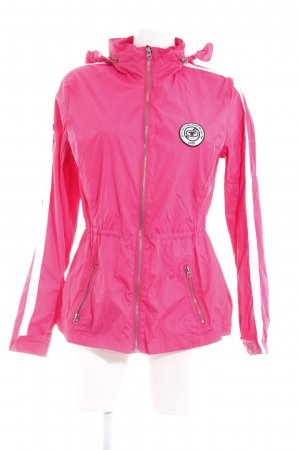 Tom Tailor Sports Jacket magenta-white athletic style