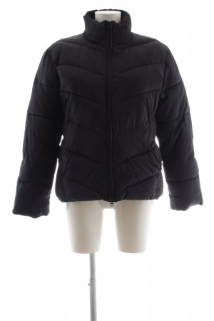 Tom Tailor Quilted Jacket black quilting pattern casual look