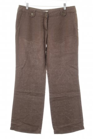 Tom Tailor Stoffhose braun Casual-Look