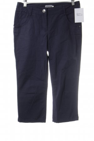 Tom Tailor Stoffhose dunkelblau Casual-Look