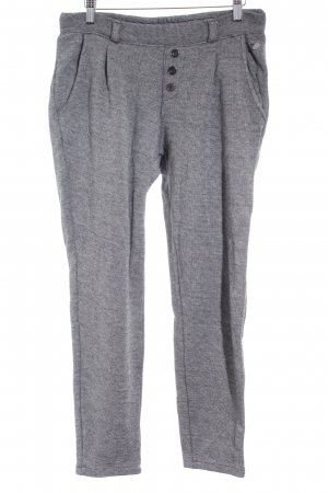 Tom Tailor Stoffhose grau meliert Casual-Look