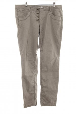 Tom Tailor Stoffhose graubraun Casual-Look