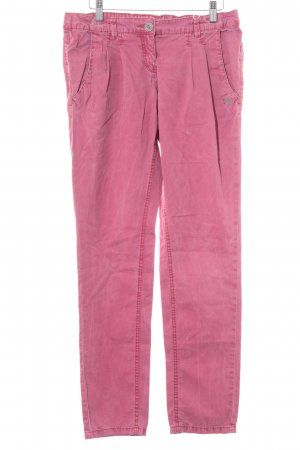 Tom Tailor Stoffhose magenta Casual-Look