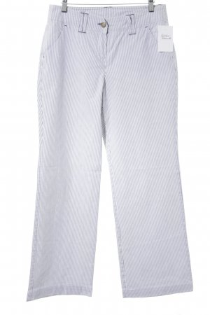 Tom Tailor Jersey Pants white-black striped pattern casual look