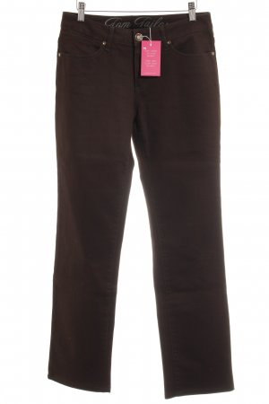 Tom Tailor Straight-Leg Jeans schwarz Casual-Look