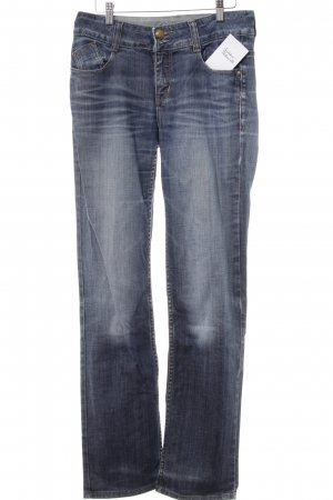 Tom Tailor Straight-Leg Jeans stahlblau Casual-Look