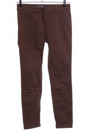 Tom Tailor Stretch Jeans braun Casual-Look