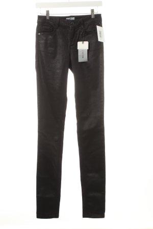 Tom Tailor Stretchhose schwarz Casual-Look