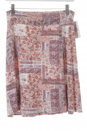 Tom Tailor Stretchrock florales Muster Gypsy-Look