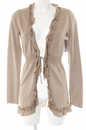 Tom Tailor Strick Cardigan camel Casual-Look