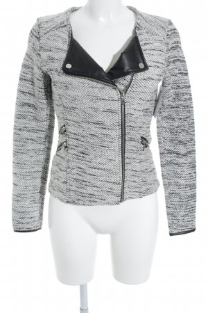 Tom Tailor Knitted Blazer white-black color gradient casual look