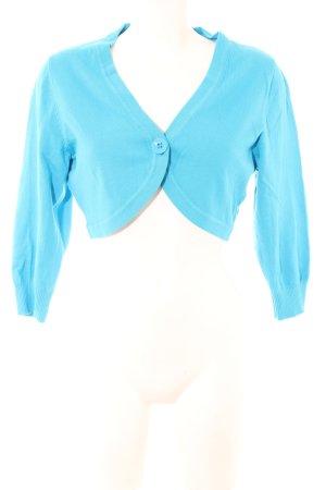 Tom Tailor Bolero lavorato a maglia blu stile casual