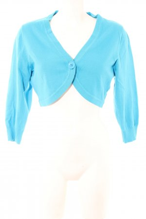 Tom Tailor Knitted Bolero blue casual look
