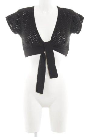 Tom Tailor Knitted Bolero black business style
