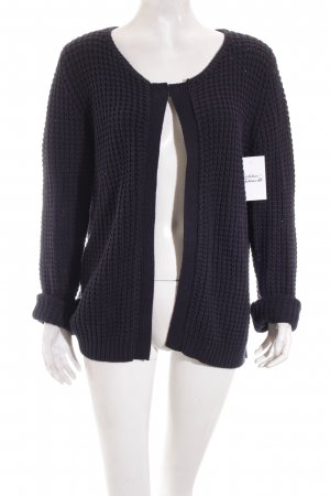 Tom Tailor Strickjacke dunkelblau Casual-Look