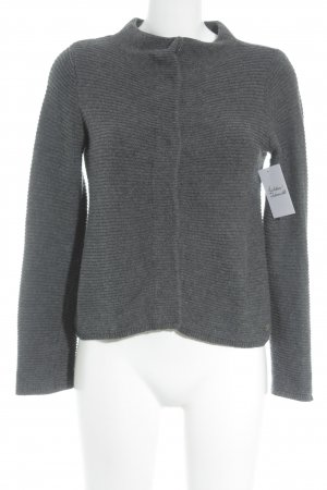 Tom Tailor Strickjacke dunkelgrau Casual-Look