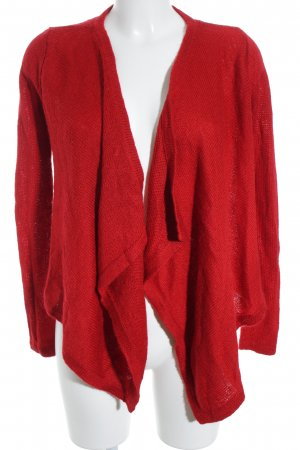Tom Tailor Strickjacke rot Casual-Look