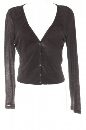 Tom Tailor Strickjacke schwarz Casual-Look