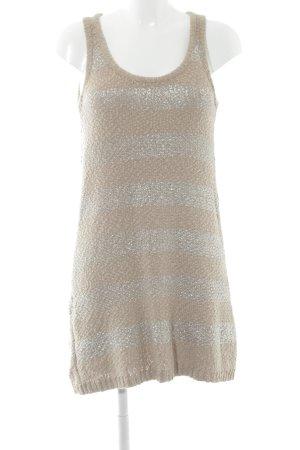 Tom Tailor Gebreide jurk beige casual uitstraling