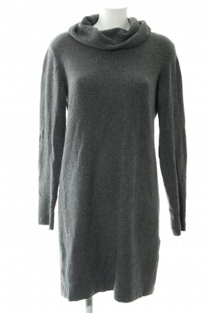 Tom Tailor Strickkleid grau meliert Casual-Look