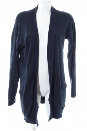 Tom Tailor Knitted Coat blue business style