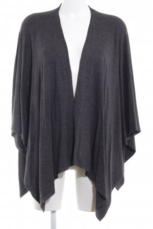 Tom Tailor Strickponcho grau Casual-Look