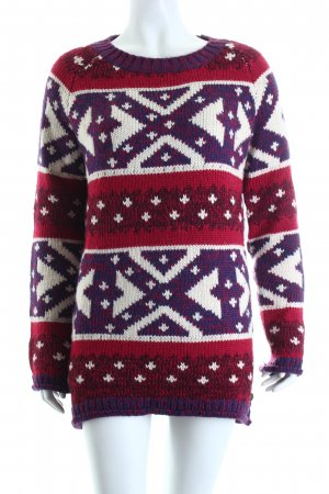 Tom Tailor Strickpullover abstraktes Muster Casual-Look