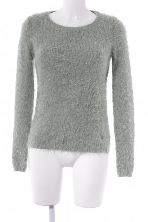 Tom Tailor Strickpullover hellgrün Casual-Look