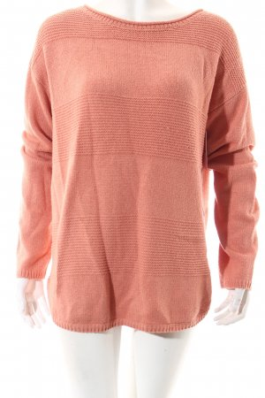 Tom Tailor Strickpullover lachs Casual-Look