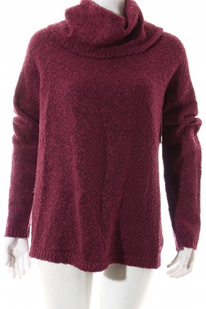 Tom Tailor Strickpullover purpur Casual-Look